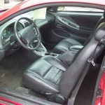2000 Ford Mustang GT – interior