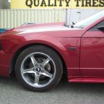 2000 Ford Mustang GT – left front panel