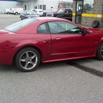 2000 Ford Mustang GT – side view