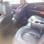 2004 Chrysler 300m – interior back
