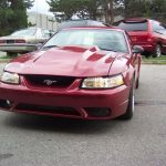2000 Ford Mustang GT – front view