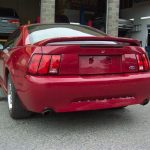 2000 Ford Mustang GT – rear view